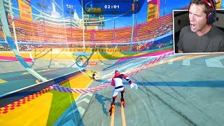 Roller Champions Gameplay (Rocket League on Roller Skates)