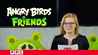 Angry Birds Friends - PPC News: The origin of the infected pigs...
