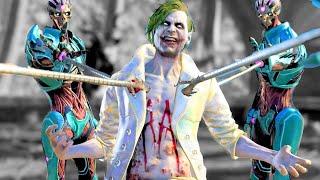 Injustice 2 All GOD Super Moves on GOD The Joker (No HUD) 4K UHD 2160p
