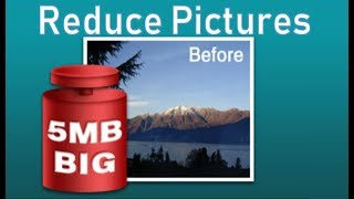 To big Pictures - Reduce them with FILEminimizer for FREE
