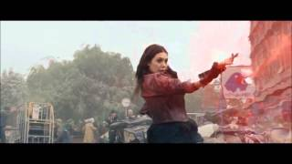Wanda Maximoff - Scarlet Witch Powers [Avengers Age of Ultron]