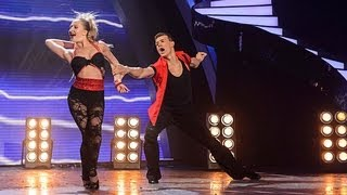 Kai and Natalia ballroom dancing - Britain's Got Talent 2012 Live Semi Final - UK version