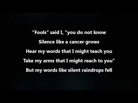 Download Disturbed - The Sound Of Silence [Lyrics Video]