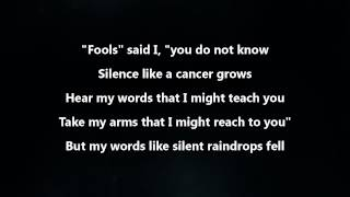 Disturbed - The Sound Of Silence [Lyrics Video]