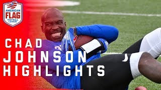 Chad Johnson Flag Football Highlights: Ochocinco tries to lead team to the Ultimate Final | NFL