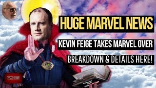 The Impact of Kevin Feige Promotion on MCU, TV, Comics, & Star Wars