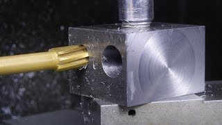 Making a 16-20mm internal turning tool holder on the lathe