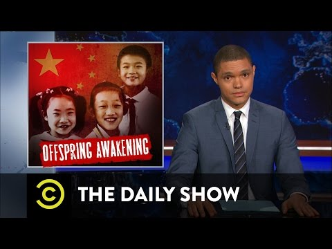 China Ditches Its One Child Policy The Daily Show