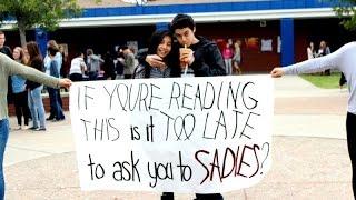 San Dimas High School- Sadies Proposal 2015