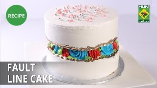 Fault line cake Recipe | Evening With Shireen |  Shireen Anwar | Bakery Item