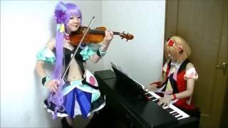 マクロスΔ(デルタ)【一度だけの恋なら】ヴァイオリンとピアノで演奏してみた【MACROSS DELTA】Ichidodake no koi nara