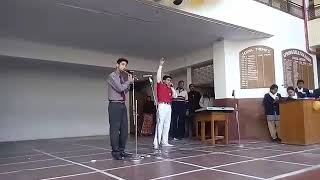 SPRING DALE COLLEGE FAREWELL 2K18...FLUTE ND BEATBOXING