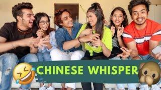 (PUNJABI) CHINESE WHISPER 🤣  Aashna Hegde