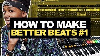 HOW TO MAKE BETTER BEATS #01 - Percussion Study | FL Studio 12 Tutorial