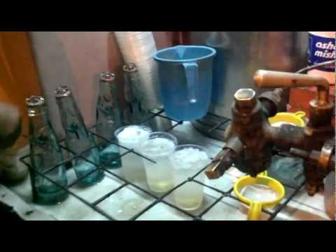 Street Food In Jaipur, Famous Desi Lemonade/Nimbu Soda Shikanji Raja Park Jaipur
