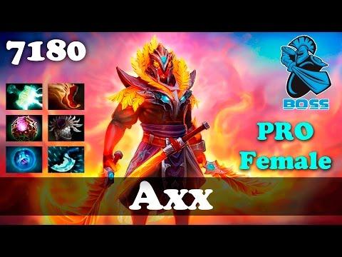Axx Pro Female Ember | 7180 MMR Dota 2