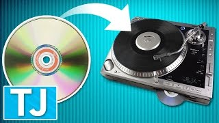 How to Play a CD on a Record Player!