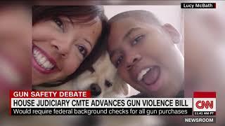 Congresswoman whose son was shot and killed celebrates gun control