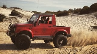 ☣AD Roaring Engines Part 2 ! (Suzuki Samurai vs Jeep JK vs Land Cruiser, Chevy Blazer, Patrol)☣