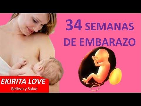 34 semanas de embarazo Ekirita Love