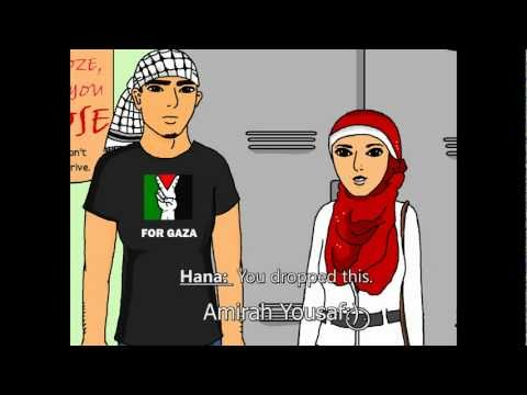 Finding the Girl - (A Homemade Islamic cartoon about a young Muslim man's search for a spouse.)