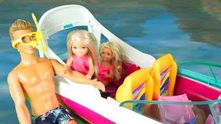 Rodzinka Barbie - Delfin z Magicznej Wyspy. Bajka dla dzieci po polsku. The Sims 4. Odc. 74