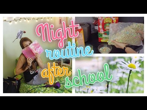 🍍 Getting unready | every night after school