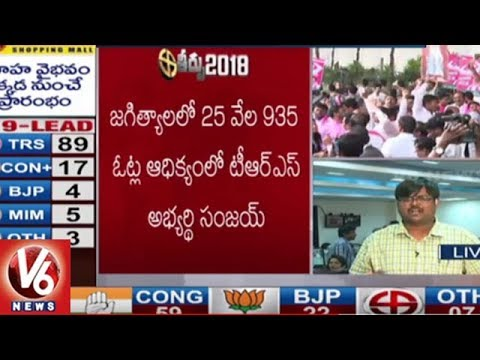 Xxx Mp4 TRS Candidate Sanjay Kumar Won Jagtial Assembly Seat TS Assembly Results V6 News 3gp Sex
