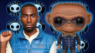 Deray Mckesson attacks WAR FOR THE PLANET OF THE APES over racist monkey?