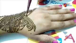 EID Fastival special easy henna mehndi designs for hands Ramadan 2018 Part II