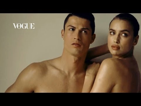 Cristiano Ronaldo & Irina Shayk | Behind the Scenes of Vogue Magazine!