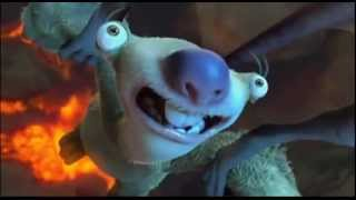 ice age air combat comedy scene(dawn of dinosaures)