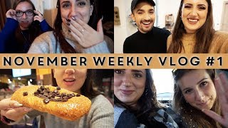 NUOVE AVVENTURE E TANTI AMICI !!! ✨ November Weekly Vlog #1