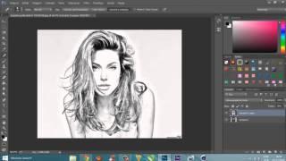 Transforma Imagem Em Desenho - PhotoShop CS5, CS6, CC