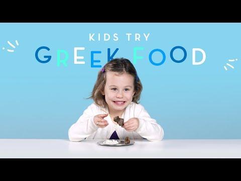 Xxx Mp4 Kids Try Greek Food Kids Try HiHo Kids 3gp Sex