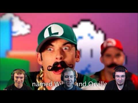 ERB - Mario Bros. vs. Wright Bros. | DarkStar Reacts
