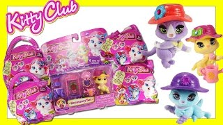 Kitty Club Blind Bags Opening & Floral Shop Accessory Set - Kitty Club Toys Videos