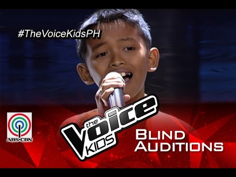 """The Voice Kids Philippines 2015 Blind Audition: """"Lipad Ng Pangarap"""" by Joshua"""