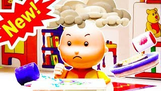 GRUMPY CAILLOU   Cartoons for kids   Funny Animated Cartoons for Children   Caillou Stop Motion