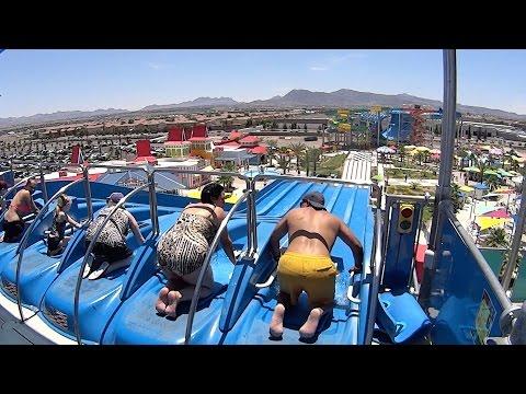 watch Surfin' USA Water Slide at Cowabunga Bay Las Vegas