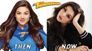 The Thundermans Then And Now 2016