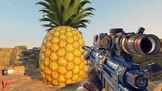 GIANT ZOMBIES PINEAPPLE MOD (Black Ops 3 Zombies Mod)