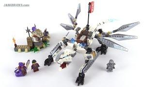 LEGO Ninjago Titanium Dragon review! set 70748