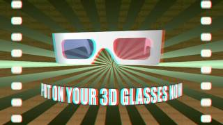 3D Glasses - 3D Stereoscopic Anaglyph Video (not yt3d)