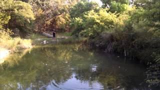 Exploring a Creek. Strange fish caught!