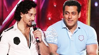 Tiger Shroff Want To BE NEXT Salman Khan Of Bollywood