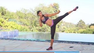 Cardio Kickboxing Workout  300 Calories-Kickboxing Cardio To Burn Fat