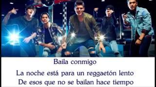 CNCO - Reggaetón Lento - Letra