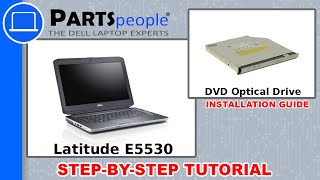 Dell Latitude E5530 (P28G-001) DVD Optical Drive How-To Video Tutorial