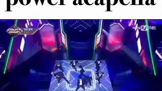 اغنية exo pwoer بدون ميوزك !!